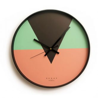 bonbon wall clock large