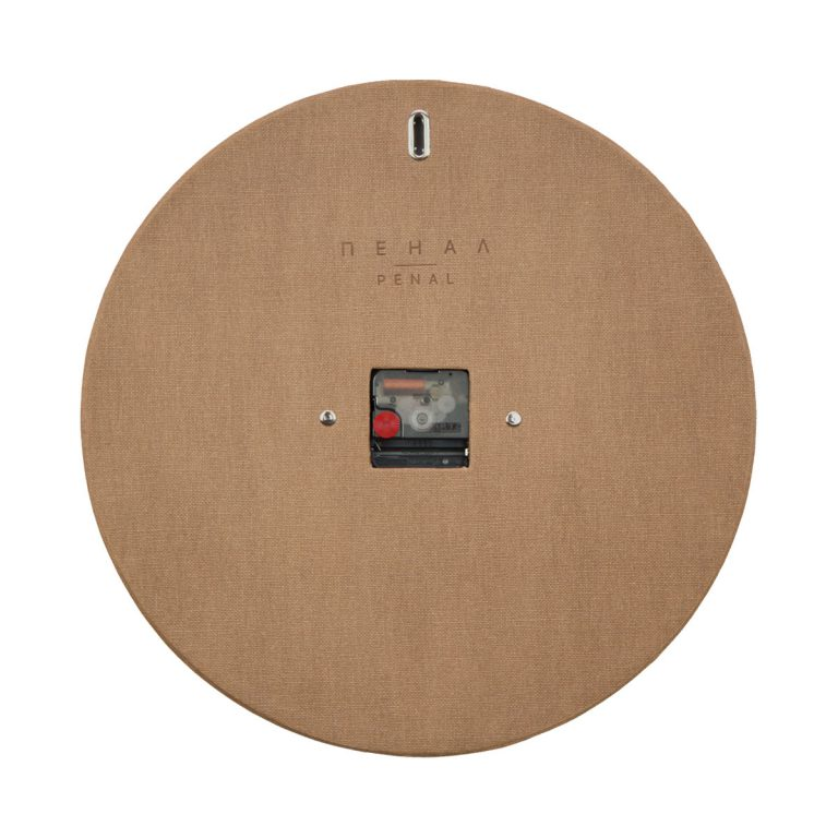 cozy living wall clock backside large