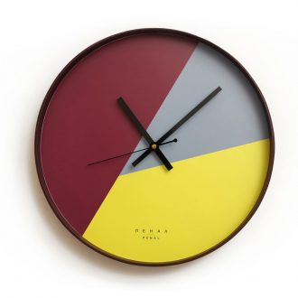 funky wall clock large