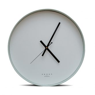 mint wall clock large