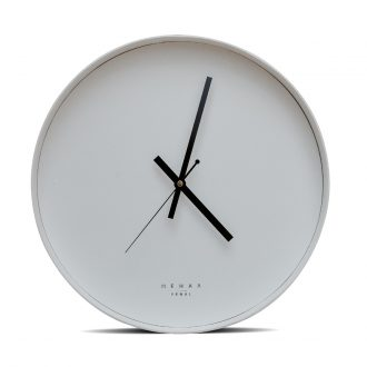 white wall clock large
